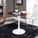 36 inch odyssey round dining table - room view