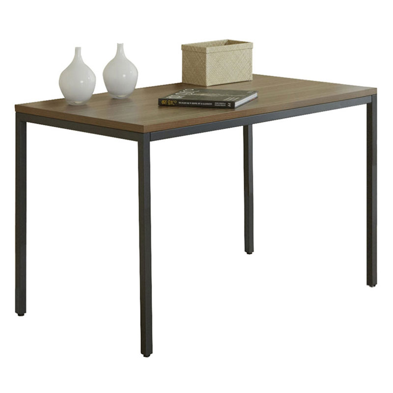 Paige Small Manager Desk in Walnut