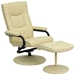 Philip Recliner and Ottoman Set