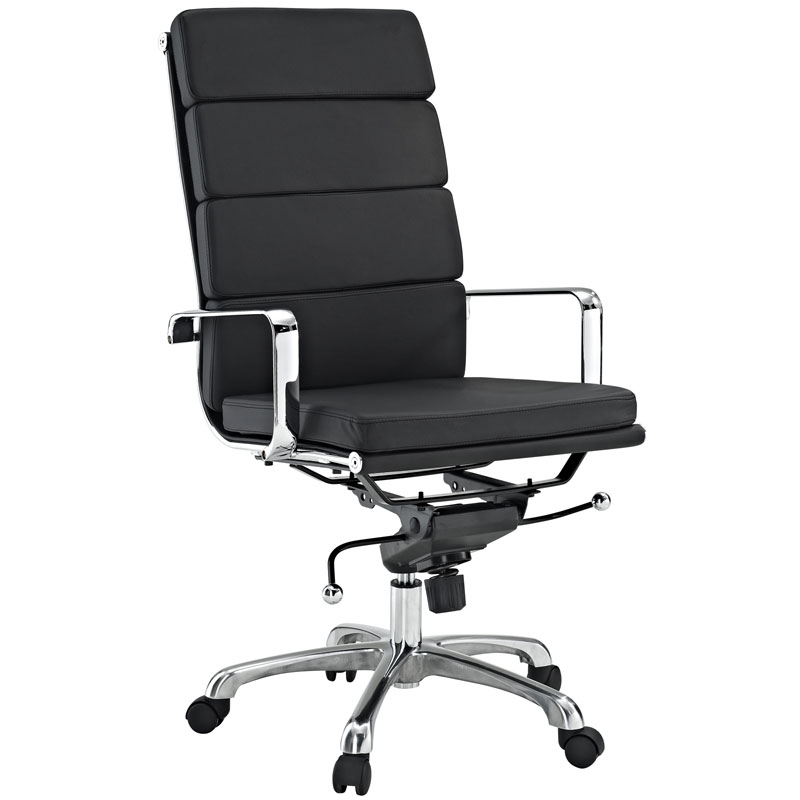 Pro High Back Office Chair in Black  sc 1 st  Eurway & Pro High Back Office Chair | Modern Office Chairs | Eurway islam-shia.org