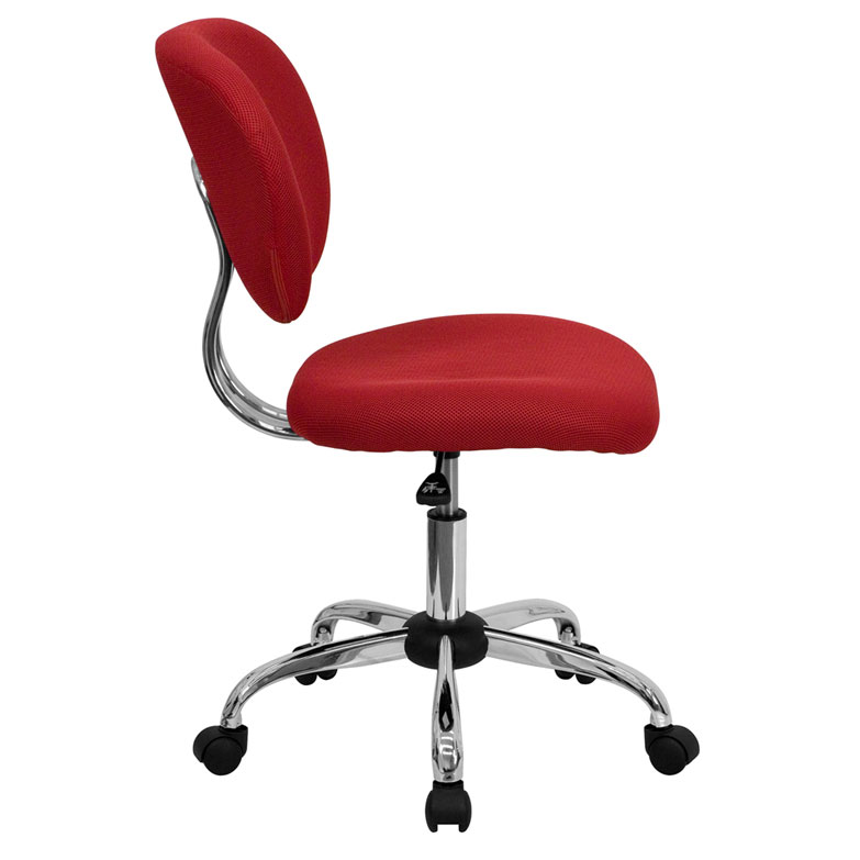 office chair side. Wonderful Office Ramsey Armless Task Chair  Side View For Office