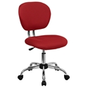 Ramsey Armless Task Chair in Red