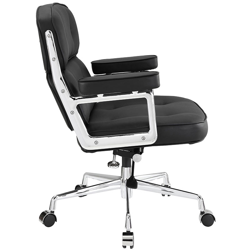 retro office chair side view