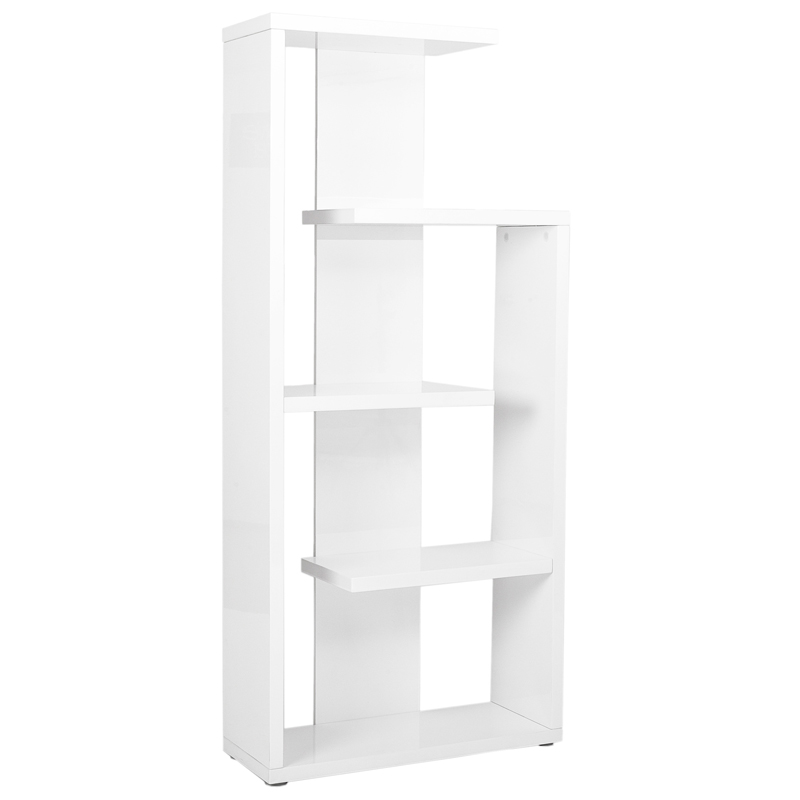 Ronald Modern Etagere in White