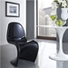 S Dining Chair - Black
