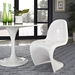 S Dining Chair in White