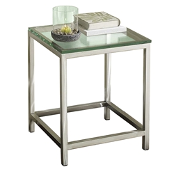 salina modern end table