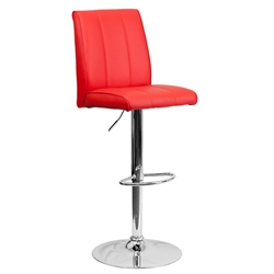 Samara Barstool in Red