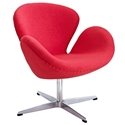 Shell Modern Classic Lounge Chair