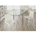 Shelton Dining Chairs + Dudley Square Table