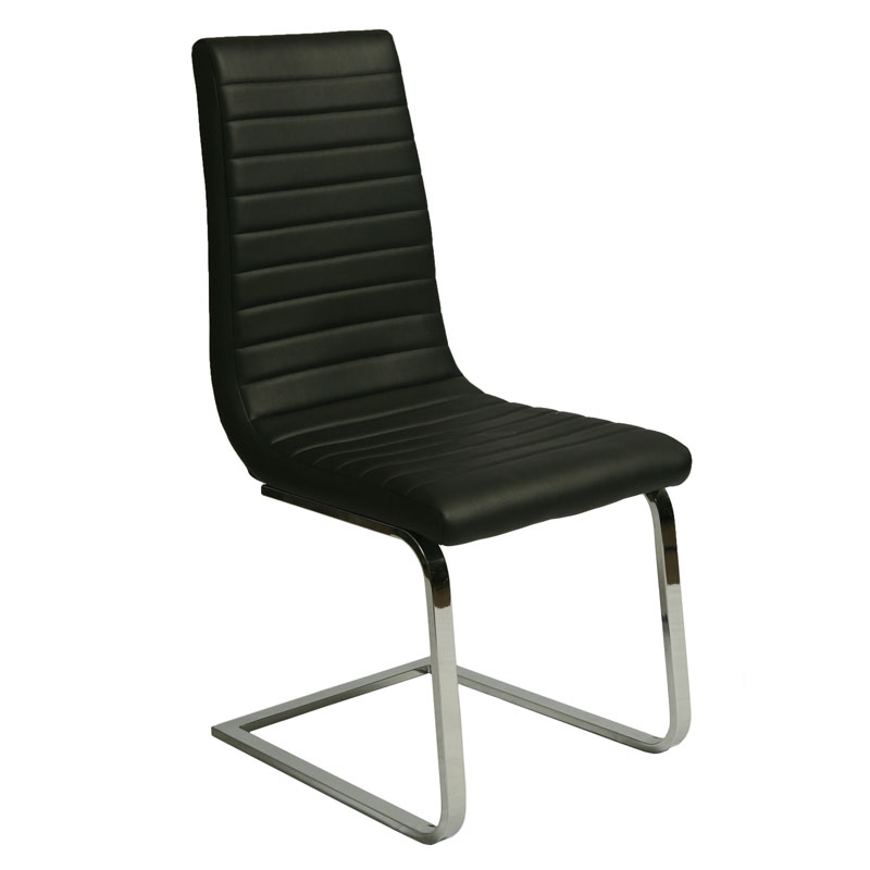 Skyline Modern Black Dining Chair