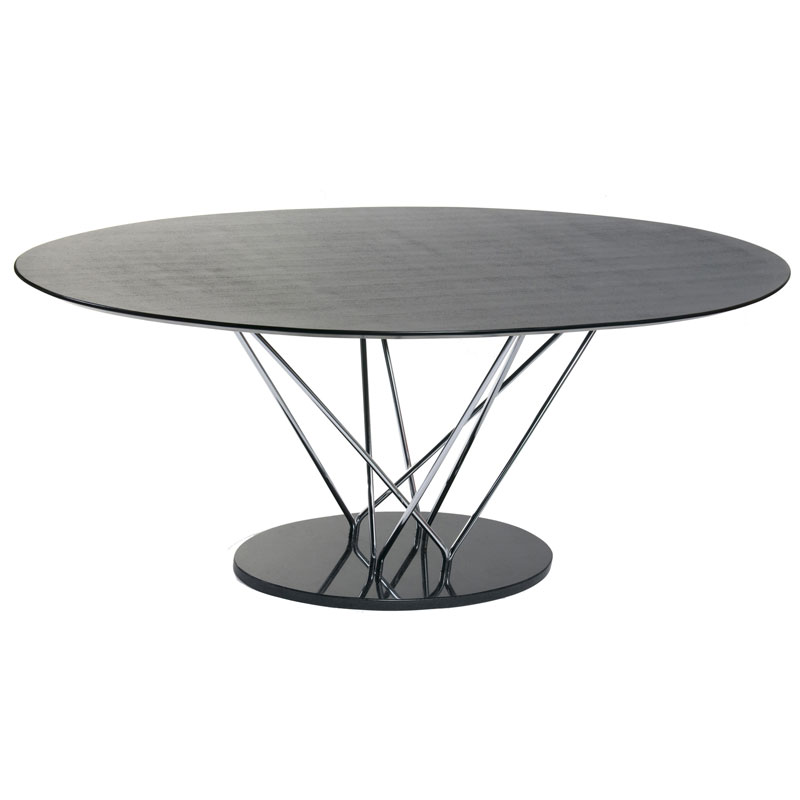 Sterling Modern Oval Dining Table