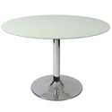Sundance Modern Frosted Glass Dining Table