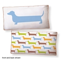 Super Dachshund Long Pillow