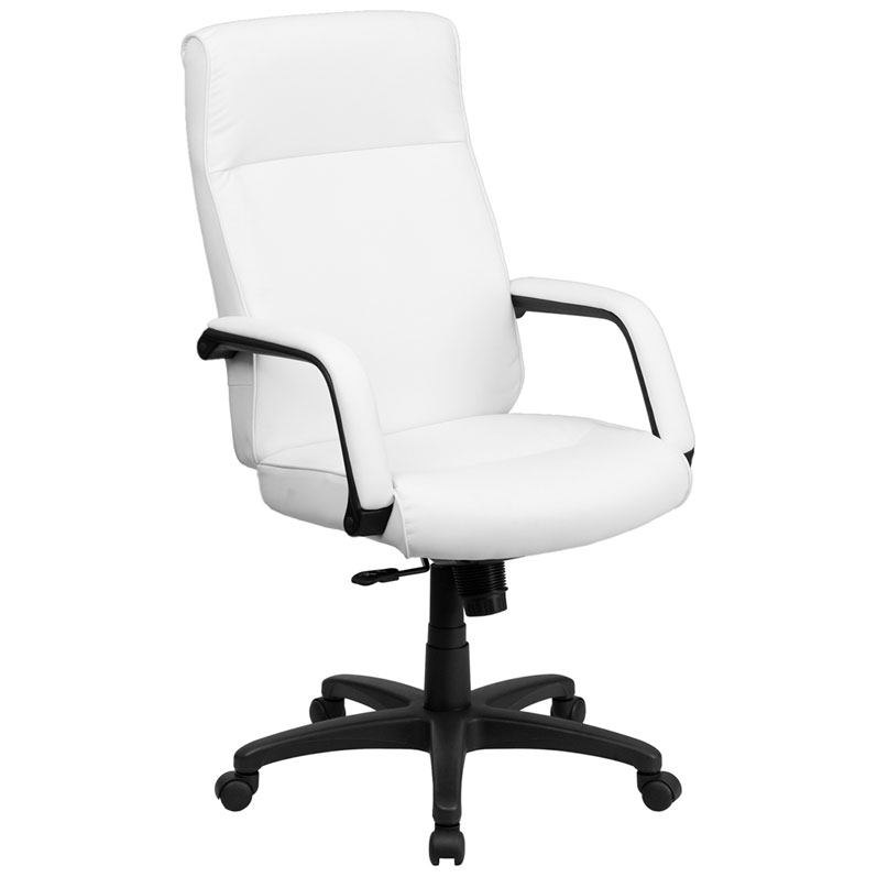 Timothy High Back Office Chair in White