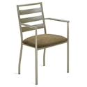 Tori Arm Chair In Metallo by Amisco