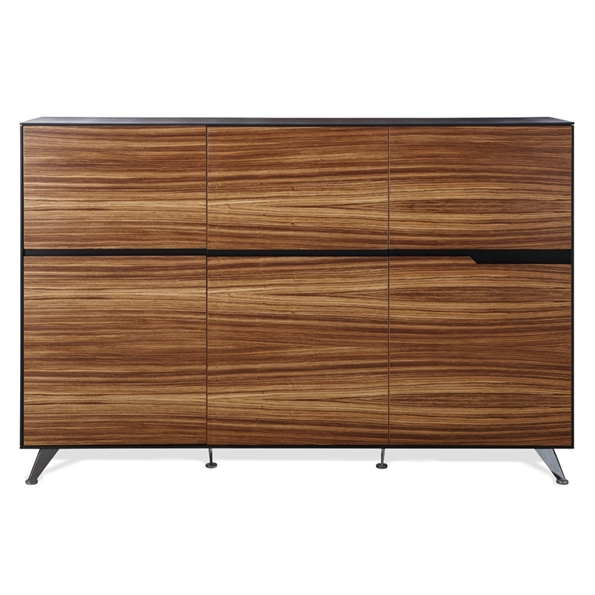 Trondheim 400 Collection Cabinet in Zebrano