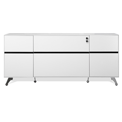 Trondheim 400 Collection Credenza in White