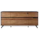 Trondheim 400 Collection Credenza in Zebrano