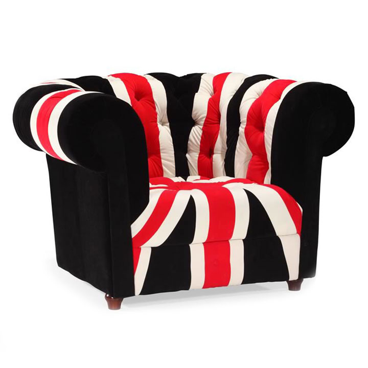 union jack furniture. call to order · union jack armchair furniture