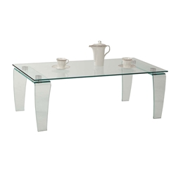 Vela Modern Glass Cocktail Table