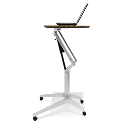 Laptop Desks - Workpad Adjustable Desk in Walnut
