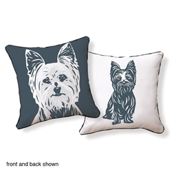 Yorkshire Terrier Pillow